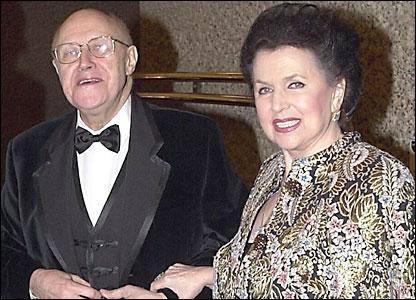 Мстислав Ростропович с супругой Галиной Вишневской