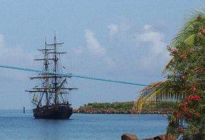 Пиратский корабль Jolly Roger