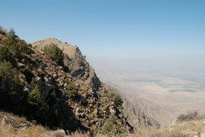 Гора регулярно посещается человеком