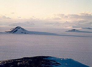 в глубине ледового континента