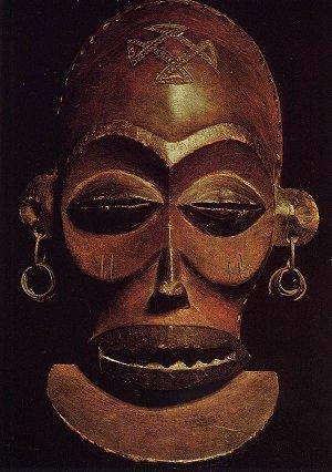 Музей Анголы. Маска