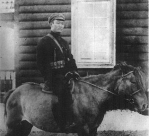 Сухе Батор - лидер монгольских коммунистов