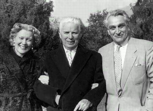 Л. Орлова, чарли Чаплин и Александров