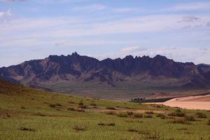 Город Мурэн находится в горах Хангай в северной части Монголии