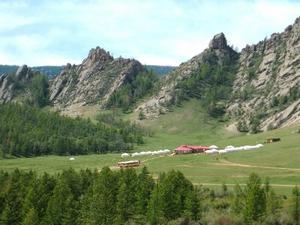 Удивительна по красоте и первозданности природа Монголии