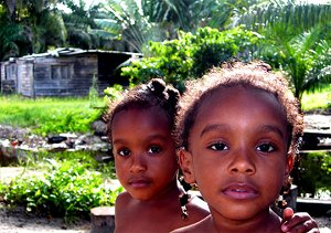 дети в Алжире
