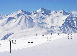 Бакуриани- катание на лыжах
