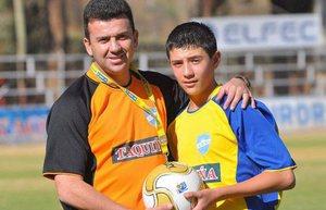 Отец и наставник Сесар Бальдивьесо с сыном Маурисио Бальдивьесо