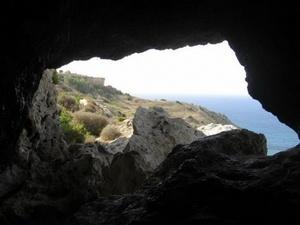Пещера легендарной нимфы Калипсо на Мальте