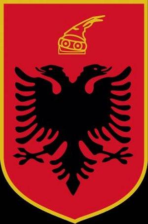 флаг Скандербега