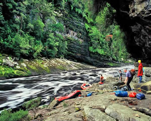 Белая река в Тасмании