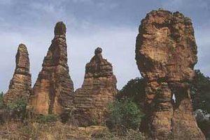 Национальный парк Арли располагается на юго-востоке Буркина Фасо