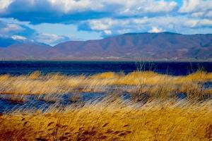 У самой границы с Грецией расположено озеро Дойрани