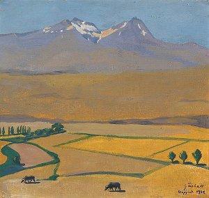 Мартирос Сарьян-пейзаж