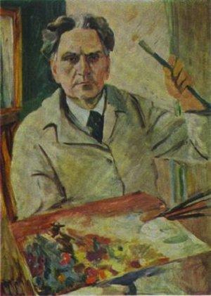 Мартирос Сарьян-автопортрет