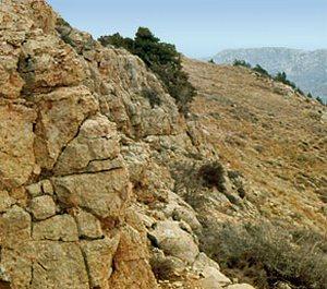 Хребет Большой Балхан - в действительности это не хребет, а отдельная небольшая горная страна