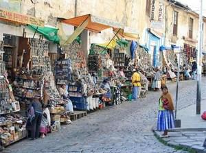 Массовая безработица и массовая бедность превращают Ла-Пас в гигантский уличный рынок