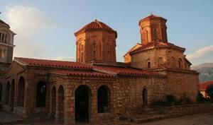Монастырь Святого Наума датируется X веком н.э