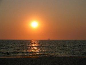 Луанда, закат