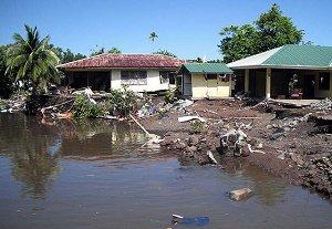 Деревня Американского Самоа