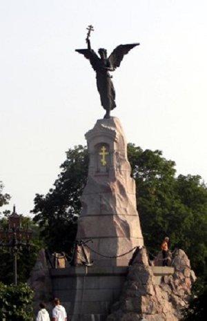 Памятник русскому броненосцу «Русалка»