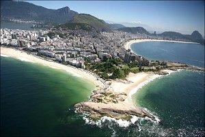 С высоты Рио
