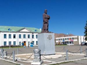 Город Ховд расположился в западной части Монголии на восточных склонах Монгольского Алтая
