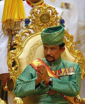 Султан Болкиях -- 29-й представитель правящей династии, начало которой относится к XIV веку