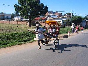 Рикша на Мадагаскаре