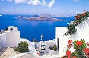 в Греции очень жарко