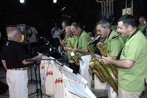 Церемония открытия фестиваля в Бакинском джаз-центре