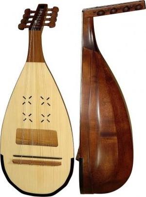 Кобза струно щипковый инструмент