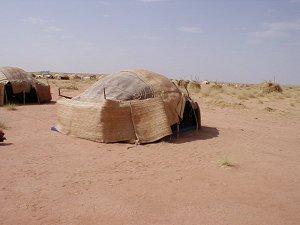 Шатер туарега